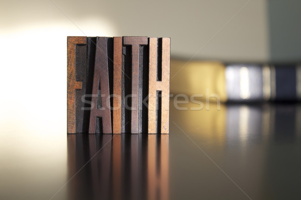 Faith Stock photo © enterlinedesign