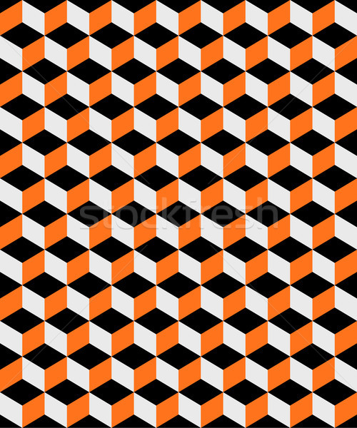 Abstrato laranja preto ilustração Foto stock © enterlinedesign