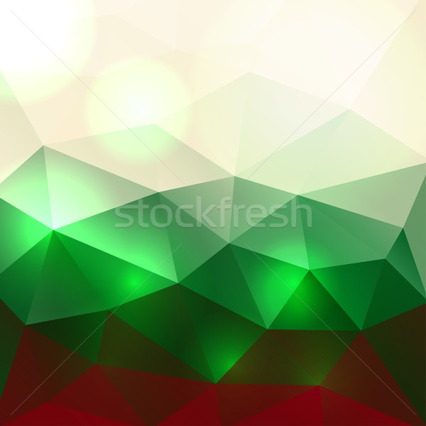 Christmas Colors Abstract Background Stock photo © enterlinedesign