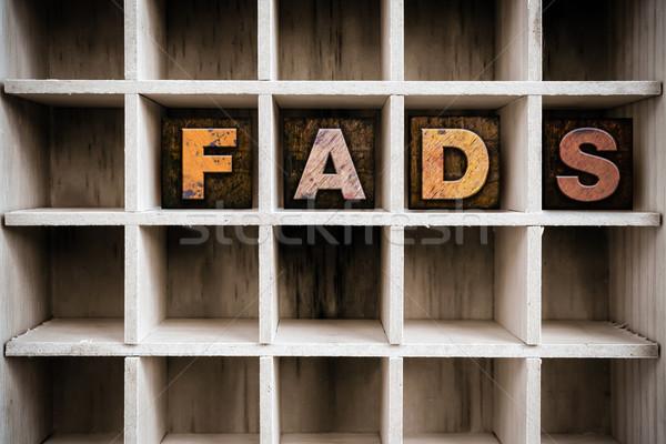 Fából készült magasnyomás rajz szó írott Stock fotó © enterlinedesign