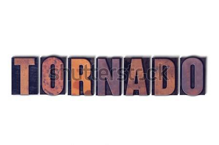 Konzol izolált magasnyomás szó írott klasszikus Stock fotó © enterlinedesign