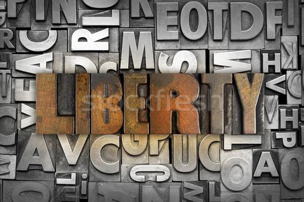 Liberty Stock photo © enterlinedesign