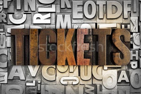 Tickets Stock photo © enterlinedesign