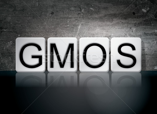 GMOs Tiled Letters Concept and Theme Stock photo © enterlinedesign