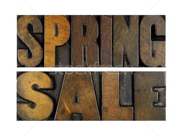 Spring Sale Stock photo © enterlinedesign