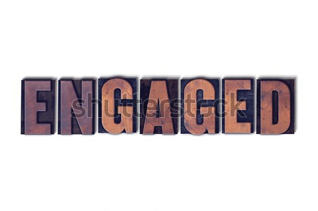 Frugal Concept Isolated Letterpress Word Stock photo © enterlinedesign