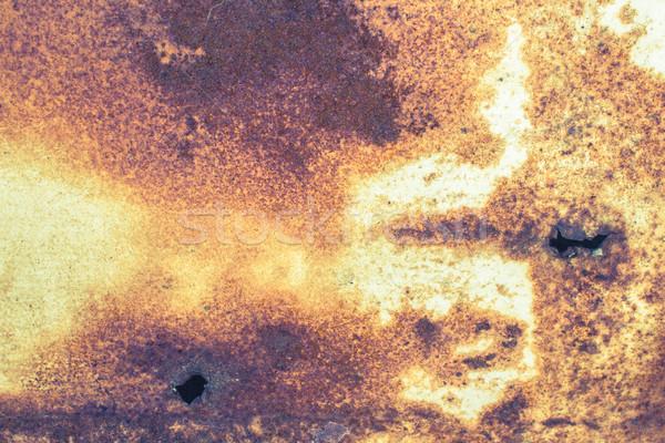 Abstrato enferrujado textura enferrujado metal fundo Foto stock © enterlinedesign