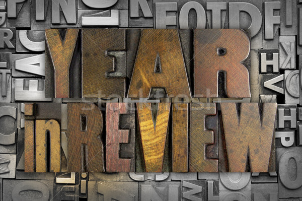Year in Review Stock photo © enterlinedesign