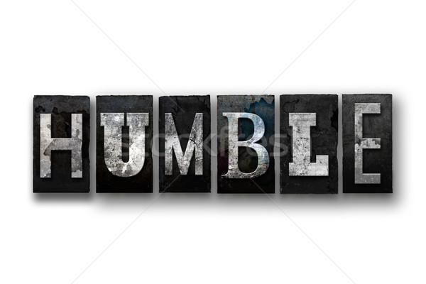 Geïsoleerd type woord geschreven Stockfoto © enterlinedesign