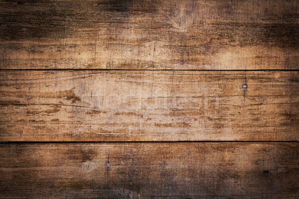 Weathered Brown Wooden Boards Background Stock photo © enterlinedesign