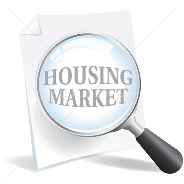 Taking a Closer Look at the Housing Market Stock photo © enterlinedesign