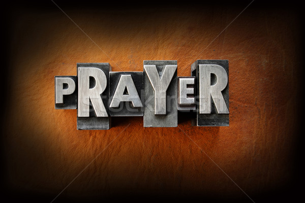 Prayer Stock photo © enterlinedesign