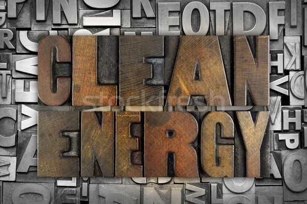 Clean Energy Stock photo © enterlinedesign