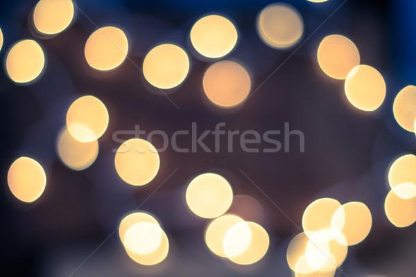 Defocused Lights Stock photo © enterlinedesign