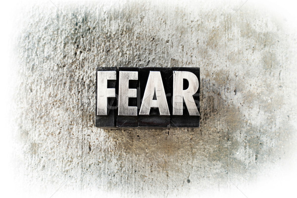 Fear Stock photo © enterlinedesign