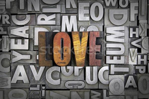 Love Stock photo © enterlinedesign