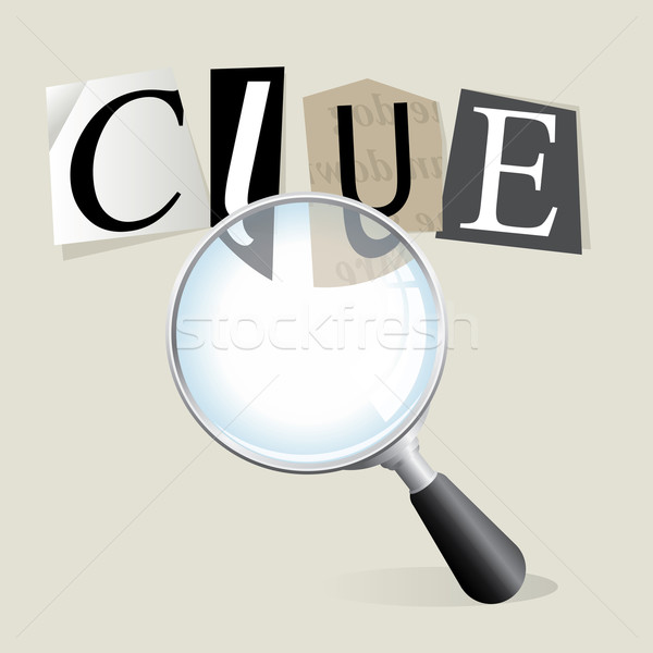 Searching for Clues Stock photo © enterlinedesign