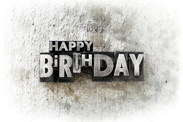 Stock photo: Happy Birthday