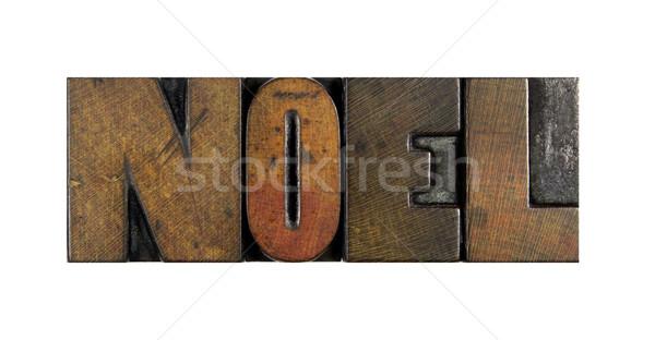 Noel Stock photo © enterlinedesign