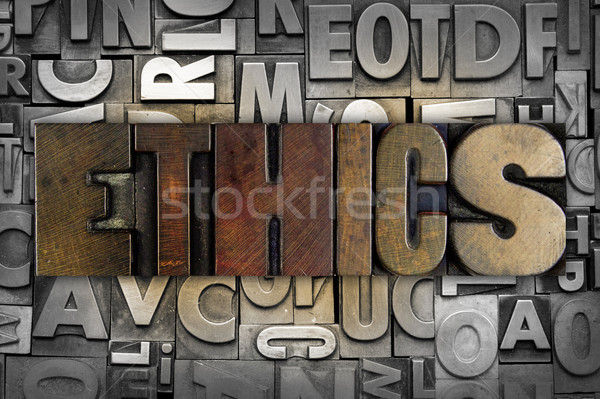 Ethics Stock photo © enterlinedesign