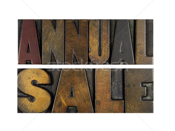 Annual Sale Stock photo © enterlinedesign