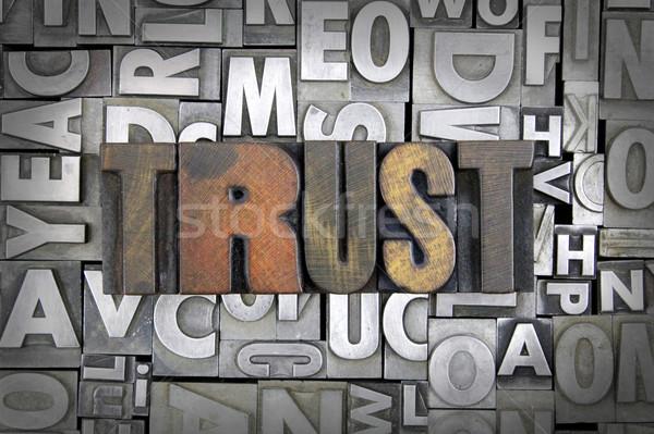 Trust Stock photo © enterlinedesign