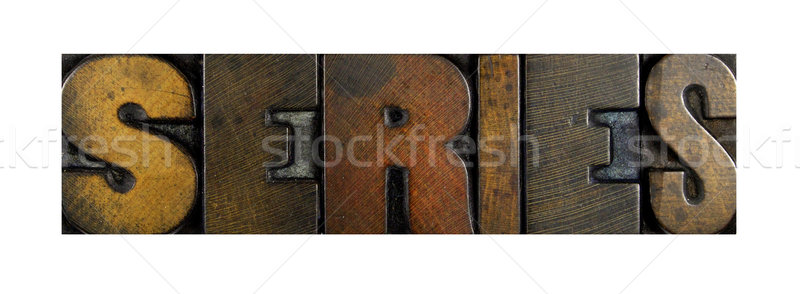 Series Stock photo © enterlinedesign