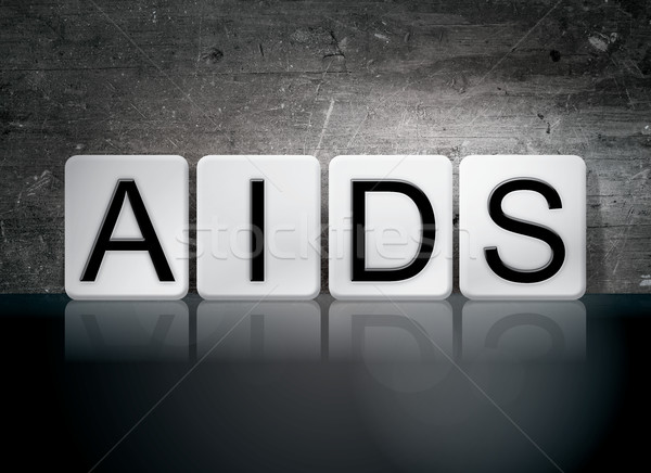 AIDS Tiled Letters Concept and Theme Stock photo © enterlinedesign