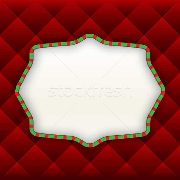 Christmas Label Background Stock photo © enterlinedesign