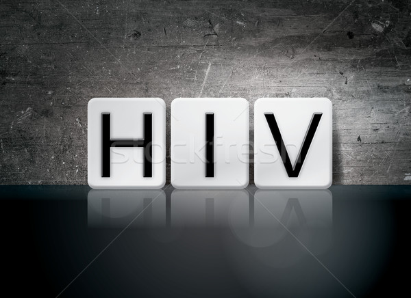 HIV Tiled Letters Concept and Theme Stock photo © enterlinedesign