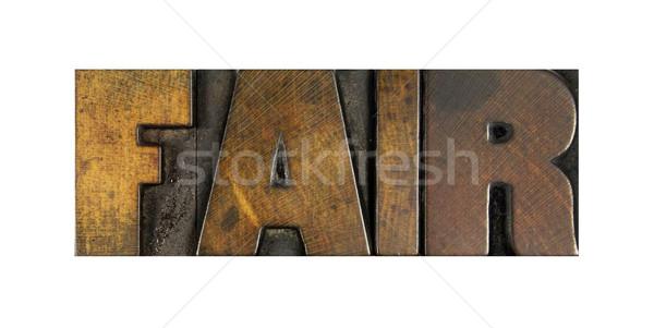 Fair Stock photo © enterlinedesign
