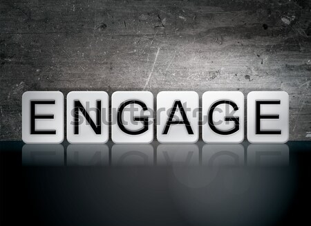 шанс изолированный плиточные письма слово написанный Сток-фото © enterlinedesign