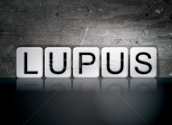 Lupus Concept Tiled Word Stock photo © enterlinedesign