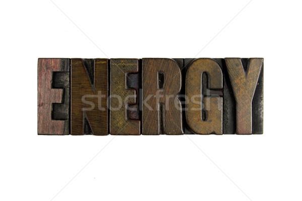 Energy Stock photo © enterlinedesign