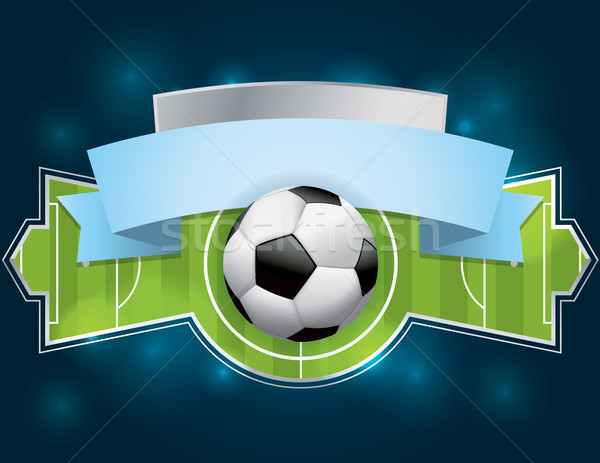 Soccer - Football Badge and Banner Stock photo © enterlinedesign