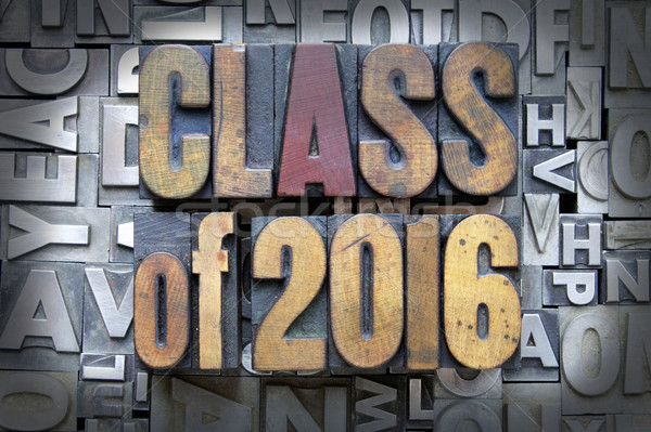 Class of 2016 Stock photo © enterlinedesign