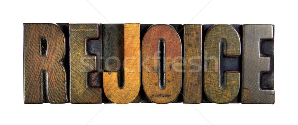 Rejoice Stock photo © enterlinedesign
