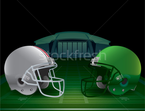 Football championnat illustration vecteur eps Photo stock © enterlinedesign