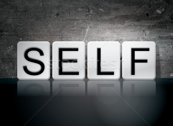 Self Tiled Letters Concept and Theme Stock photo © enterlinedesign