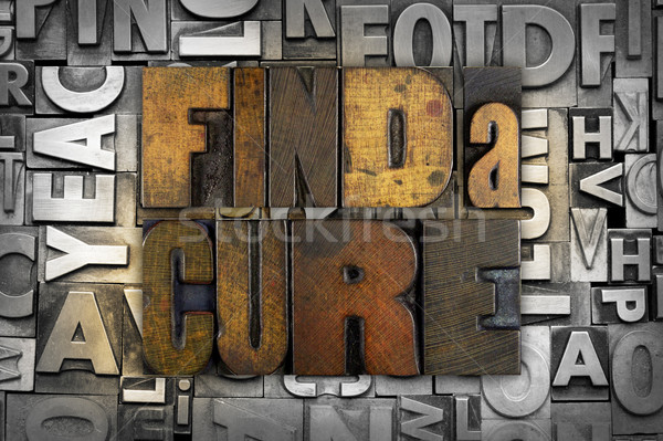 Find a Cure Stock photo © enterlinedesign