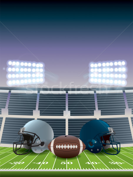 Football championnat illustration jeu vecteur Photo stock © enterlinedesign