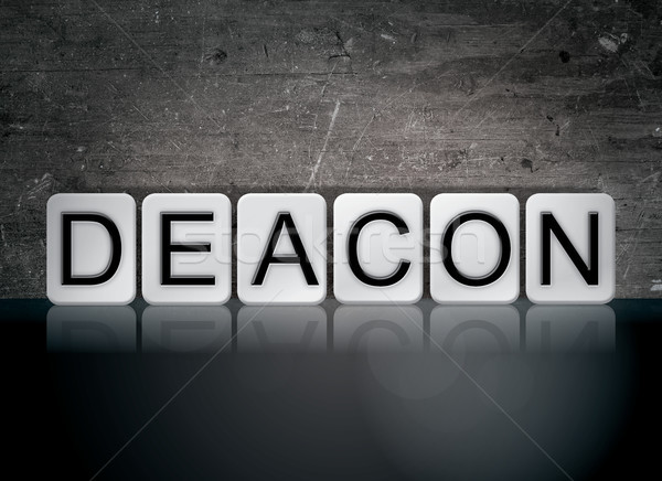 Deacon Concept Tiled Word Stock photo © enterlinedesign