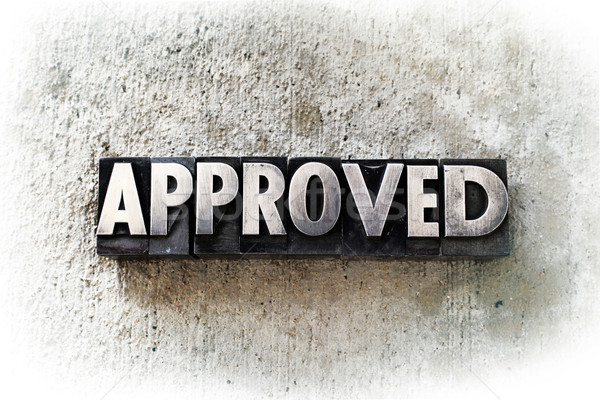 Approved Stock photo © enterlinedesign