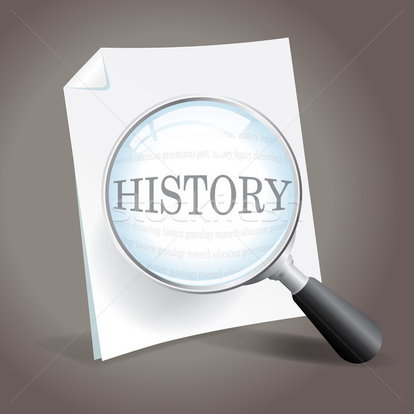 Looking back at history Stock photo © enterlinedesign