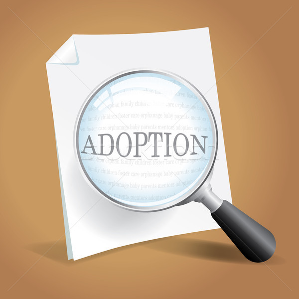 Reviewing Adoption Papers Stock photo © enterlinedesign