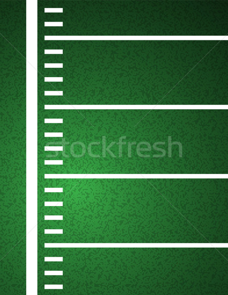 American Football Field Background Illustration Stock photo © enterlinedesign