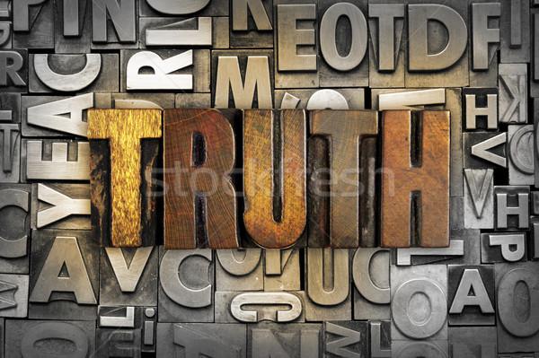 Truth Stock photo © enterlinedesign