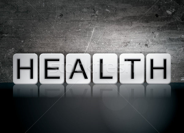 Health Tiled Letters Concept and Theme Stock photo © enterlinedesign
