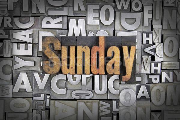 Sunday Stock photo © enterlinedesign