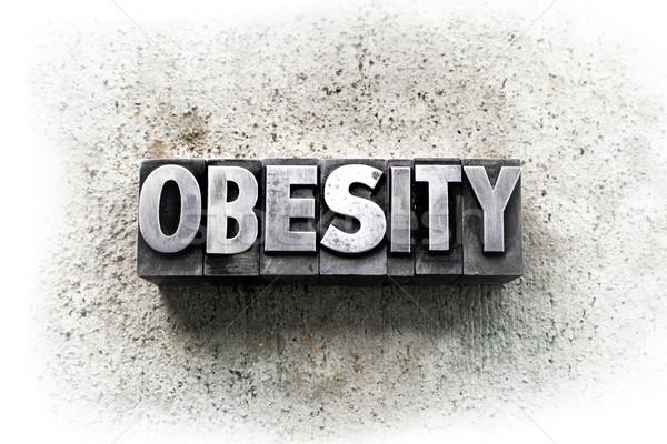 Obesity Stock photo © enterlinedesign